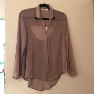 Lush Clothing Nordstrom button down long sleeve